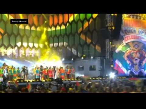 Shakira - Waka Waka (This Time For Africa) (live 2010) HD 0815007