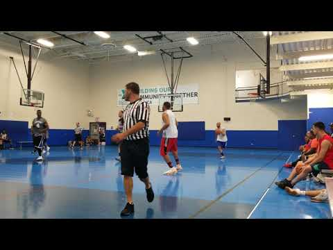 7/16/18 Mens Basketball League Game At Ymca In Berwyn, IL
