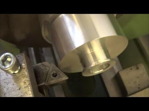 Tornitura Puleggia Speciale In Alluminio [ Turning Special Aluminum Pulley ]
