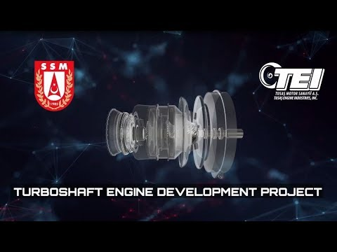 INTRODUCTORY FILM OF TURBOSHAFT ENGINE DEVELOPMENT PROJECT
