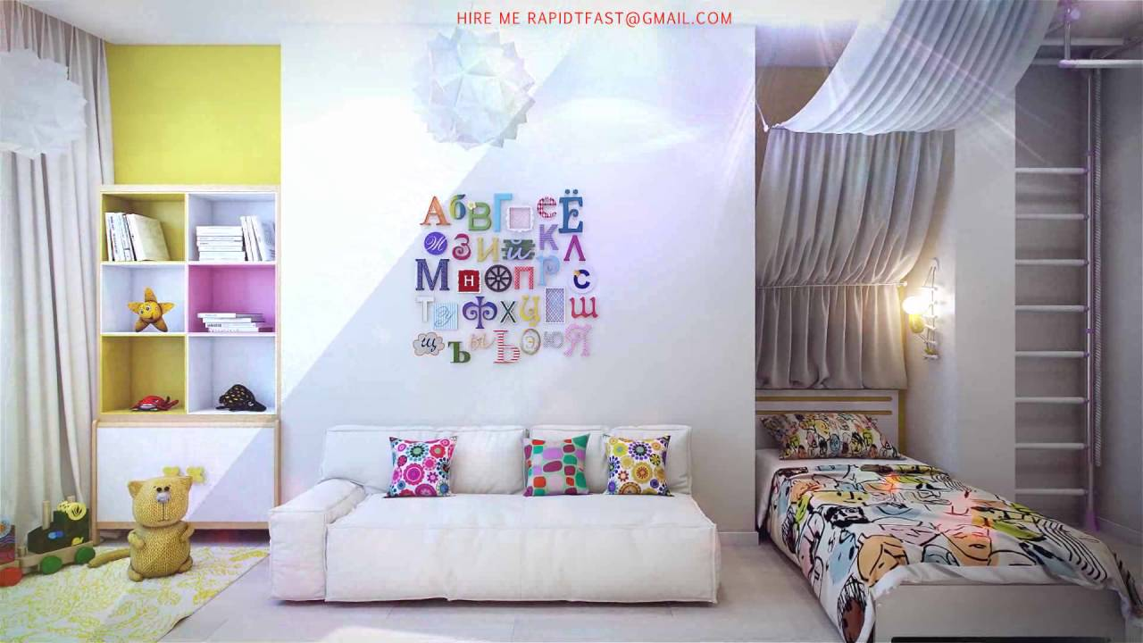 cheap bedroom decorating ideas - YouTube