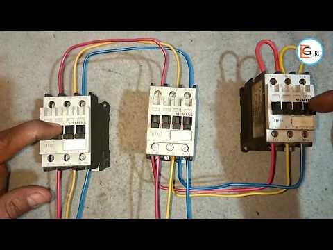 Star Delta Starter में Power Wiring कैसे करते है | Electric Guru