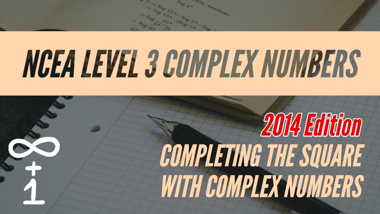 Completing the Square with Complex Numbers - YouTube