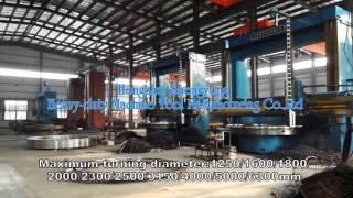 CNC vertical lathe machine manufacture