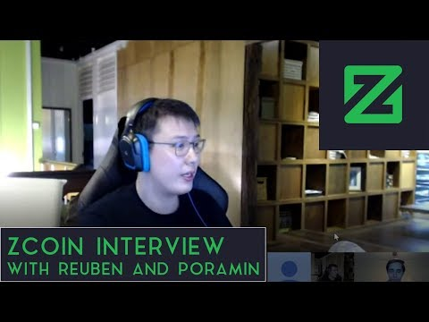 ZCoin Interview | With Reuben & Poramin