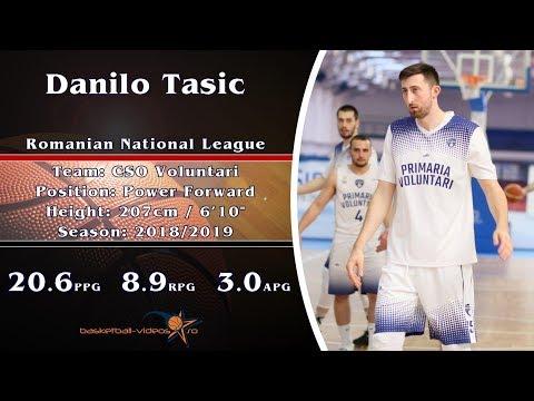 Danilo Tasic 2018/2019 Highlights