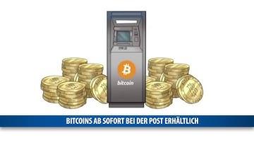 Bitcoins ab sofort bei der Post erhältlich