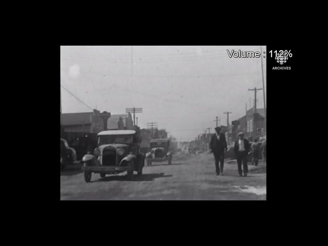 En 1965, témoignage sur les débuts de Val-d'Or et entrevue sur l'avenir des mines de la région.