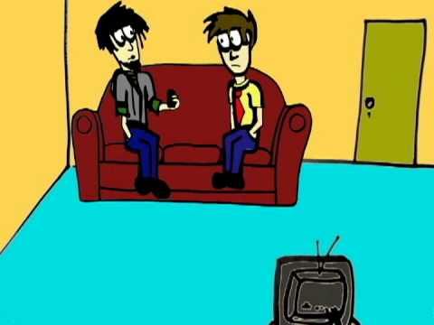 """EARTH MOON EARTH - (a cartoon sitcom) - """"Baby Talk"""" (The Couch Scene Test)"""