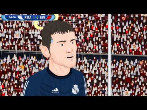 Real Madrid 2 0 Sevilla Supercopa de Europa 12814 Parodia