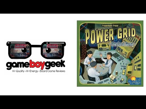 Power Grid The Card Game Review With The Game Boy Geek