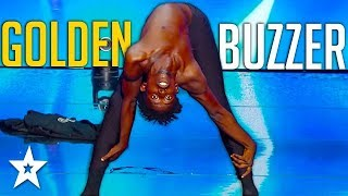 Cringy Contortionist Gets GOLDEN BUZZER on France