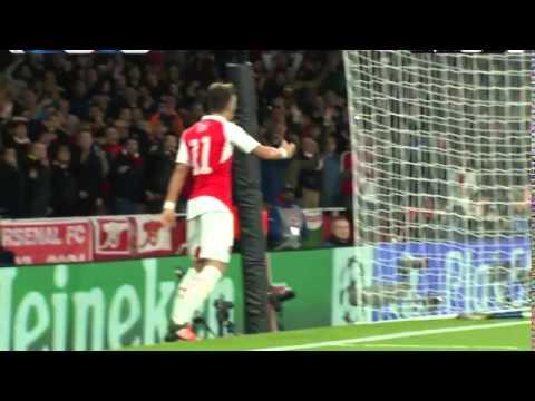 Arsenal vs Bayern Munich | Mesut Ozil Goal | Champions League 2015/16