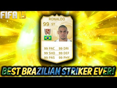 FIFA 15 - THE BEST BRAZILIAN STRIKER EVER !!