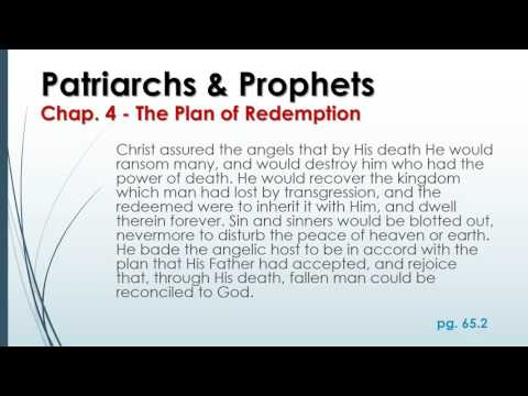 Chapter 4 - The Plan of Redemption
