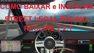 Como baixar e instalar o Street Legal Racing Redline 2.2.1  - Completo