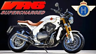 Supercharged 1200 VR6 Motorcycle - HOREX