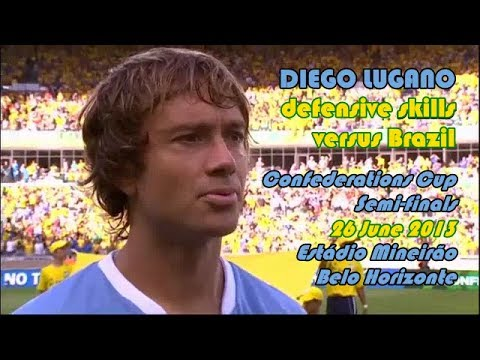 Diego Lugano ● defensive skills vs Brazil 26 June 2013