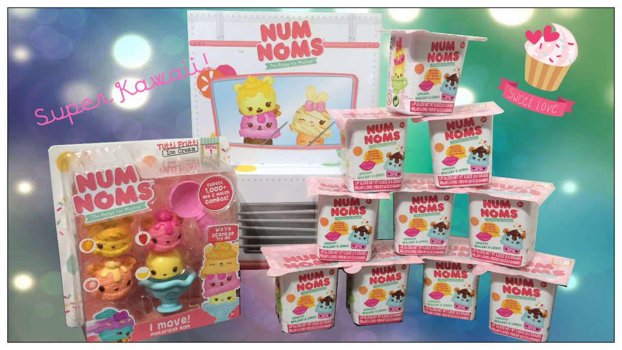 Num Noms Blind Bags Series 1 Num Nom 4 Pack Opening Toy Review