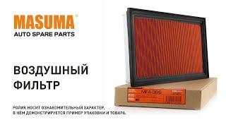 Обзор: Воздушный фильтр MASUMA