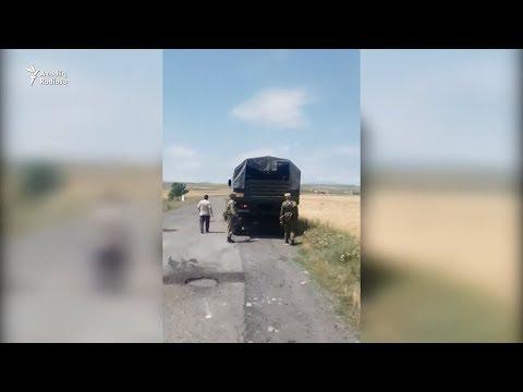 Ermənistanın Türkiyə Ilə Sərhəd Kəndində Atışma Səsləri. Əhali Panikada