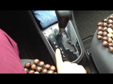 Видеоурок как ездить на автомате