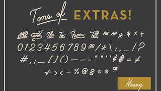 Palm Canyon Drive - Deluxe Edition Font Download