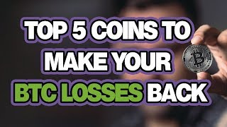 Bought BTC High? Dont worry. Top 5 Cryptocurrency To Make Your Money Back 😱