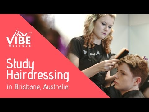 Study Hairdressing In Australia - Vibe College Brisbane