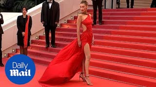 Bella Hadid leads the glamour at Pain and Glory premiere in Cannes