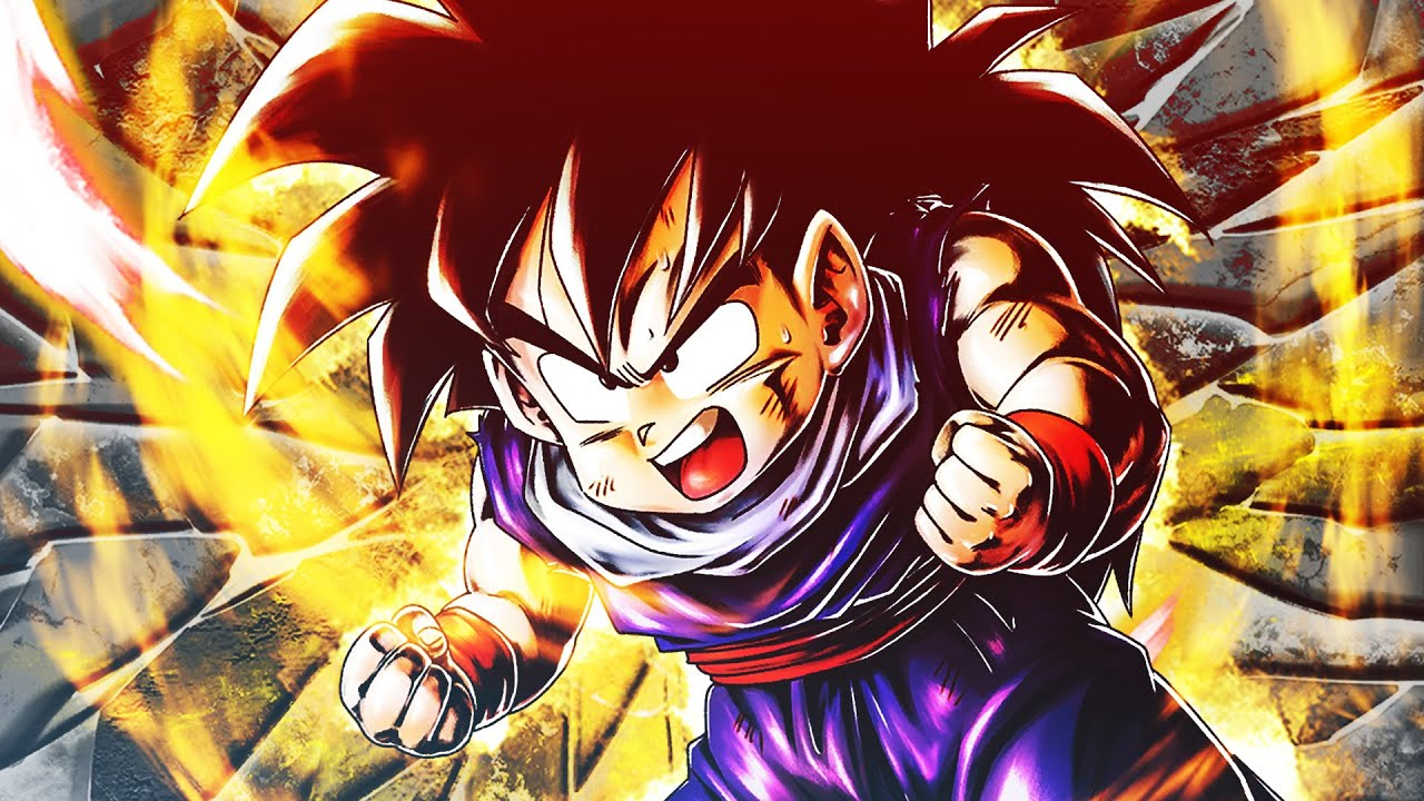 GOHAN KID EXTREME FA DANNI INSENSATI! Dragon Ball Legends
