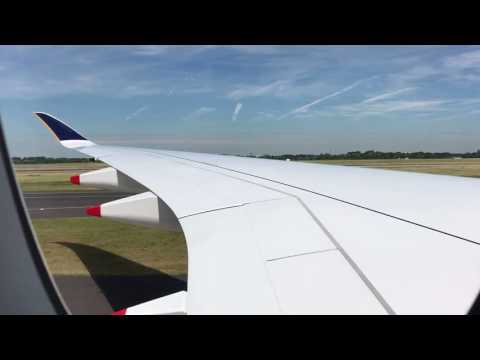 Singapore Airlines A350-900 RR Trent XWB Engine Startup