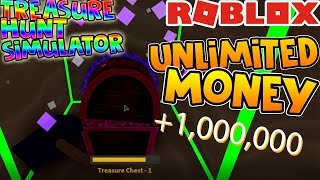 HOW TO GET UNLIMITED CHESTS AND MONEY! (TREASURE HUNT SIMULATOR) ROBLOX