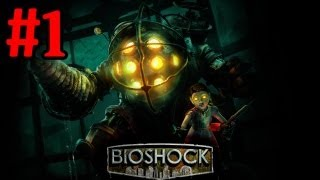 Bioshock Brass Balls Walkthrough Part 1 Welcome To Rapture - Xbox 360 Playthrough Review