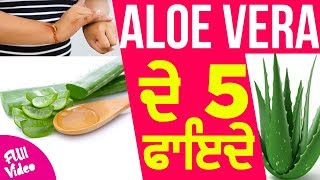 Aloe Vera ਦੇ 5 ਫਾਇਦੇ  || beauty Squad || Latest Beauty Video 2018