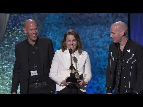 Brandi Carlile Wins American Roots Performance | 2019 GRAMMYs Acceptance Speech