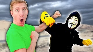 CWC vs PROJECT ZORGO in Real Life NINJA BATTLE ROYALE & Chas...