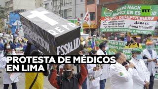 Trabajadores de la salud inician una huelga de 48 horas en Lima