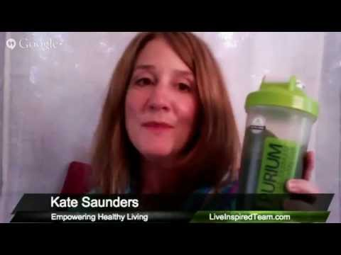 Kate Saunders Shares Her Morning Power Shake - Purium Health Products and Happy Cells!