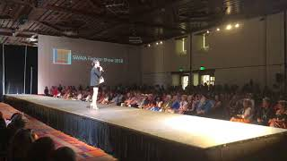 Santa Fe Indian Market 2018 - Haute Couture Fashion Show - Ira Wilson & Amber Dawn Bear Robe