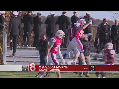 Merchant Marine beats Coast Guard, 48-23