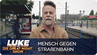 Mensch vs. Straßenbahn: Wer ist schneller? | Luke vs. Köln | LUKE! Die Greatnightshow
