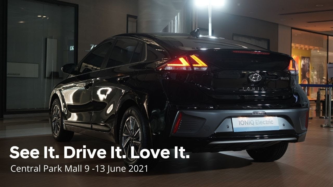 See It. Drive It. Love It. Central Park Mall 9-13 June 2021