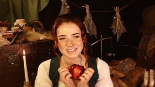 Fireside Babble & Sewing at Babblebrook Inn (ASMR)