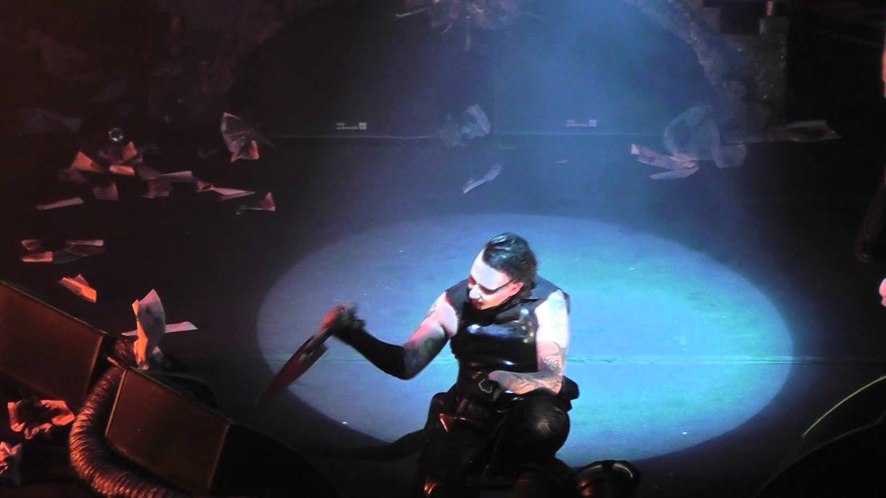 Marilyn Manson No Reflection Live Boston Ma January