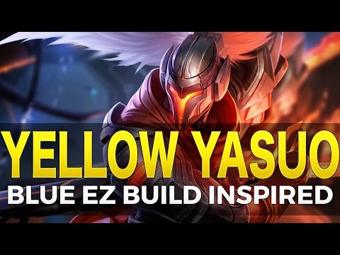Yellow Yasuo Build - Early Baron Potential - League of Legends