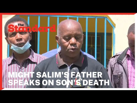 Joe Salim father to Mugithi musician Might Salim speaks out after son's death