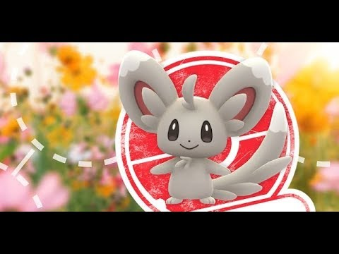 Pokemon Go Event Chinchidou/Minccino