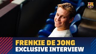 Frenkie de Jong: \'I like to have the ball a lot and to play possession\'