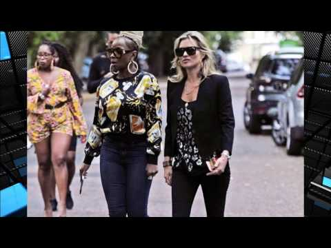 Kate Moss and Mary J Blige make a poignant visit to George Michael's grave as they mourn the star